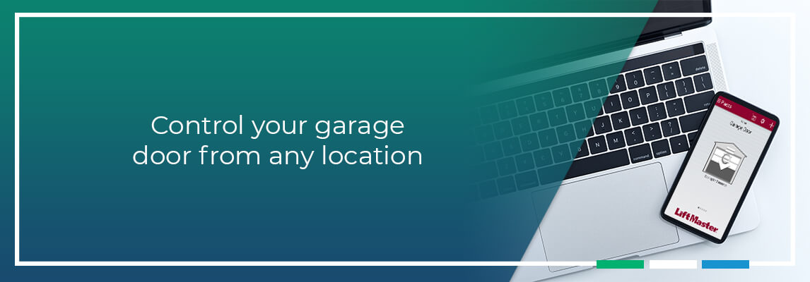 Control your garage door from any location