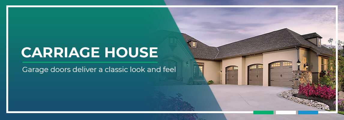 Carriage house garage doors deliver a classic look and feel