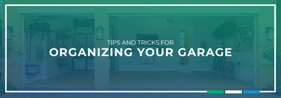 Tips and Tricks for Organizing your Garage
