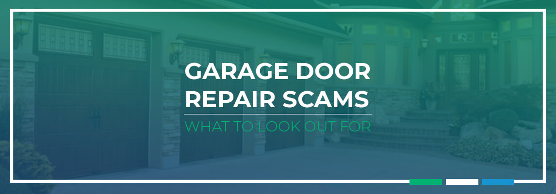 Garage Door Repair Scams: What to Look out For