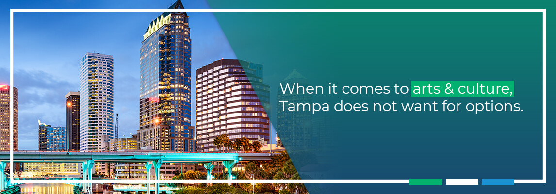 When it comes to arts & culture, Tampa does not want for options.
