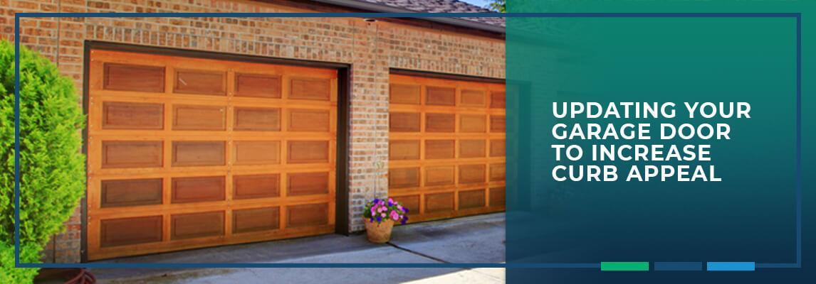 Updating Your Garage Door to Increase Curb Appeal