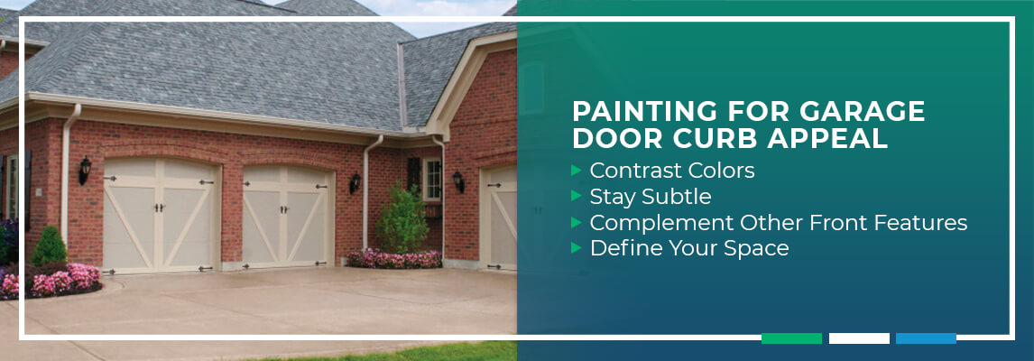 Painting for Garage Door Curb Appeal