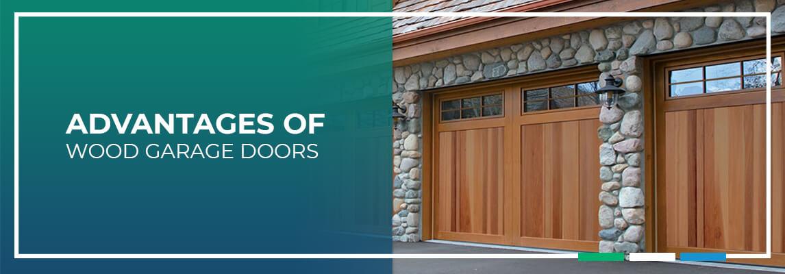 Advantages of wood garage doors