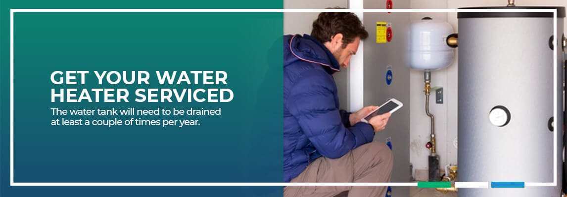 Get Your Water Heater Serviced. The water tank will need to be drained at least a couple of times per year.