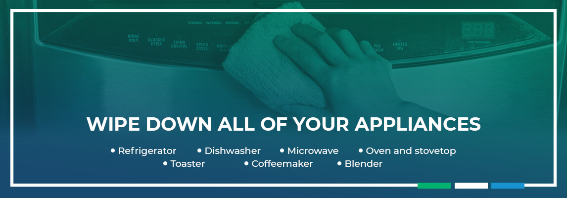 Wipe Down All of Your Appliances