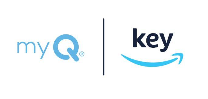 myQ | Key logo
