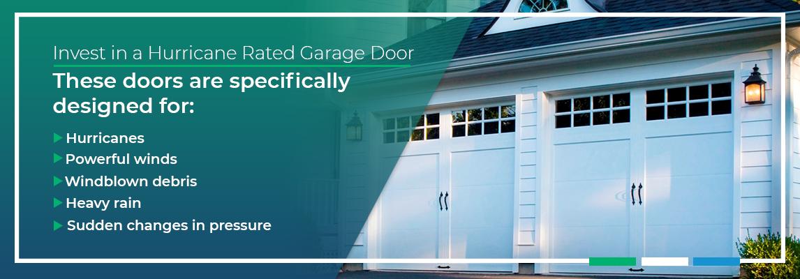 Invest in a Hurricane Rated Garage Door