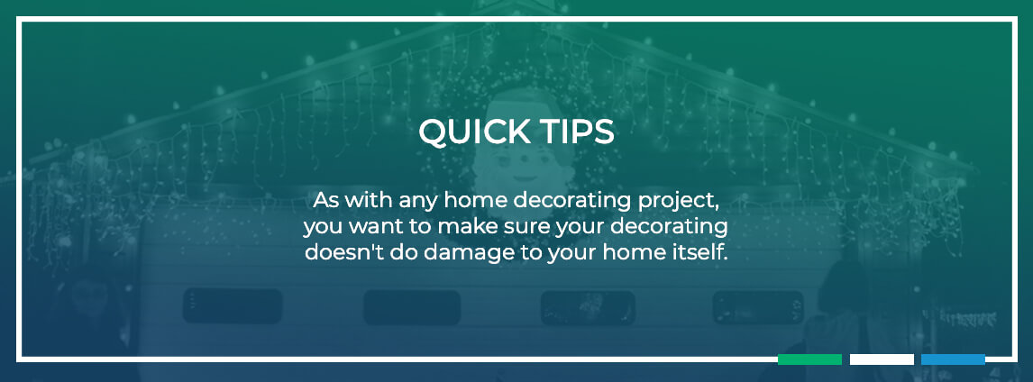 quick tips - make sure your decorating doesn't damage your home