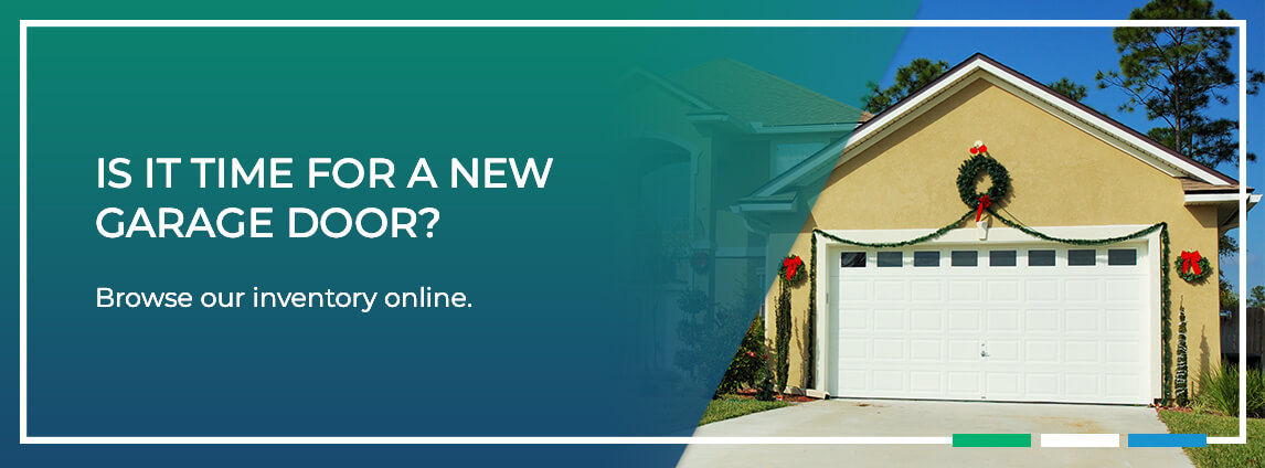 is it time for a new garage door? browse our inventory online